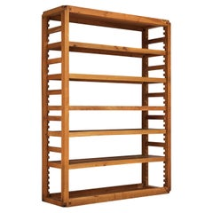 Pierre Chapo Bookcase in Solid Elm