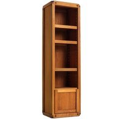 Pierre Chapo Bookcase Model 'B10' in Solid Elm