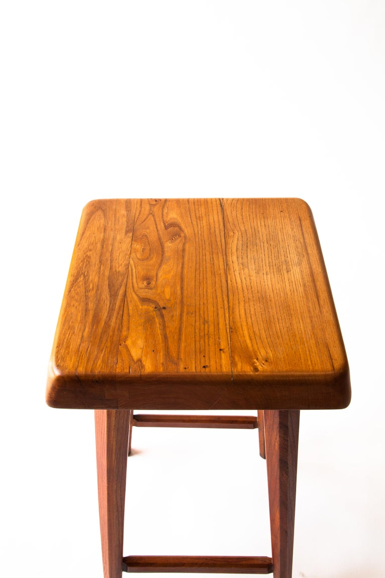 Pierre Chapo Counter Stool In Good Condition For Sale In Brooklyn, NY