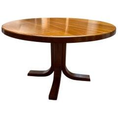 """Pierre Chapo, Dining Table T40 """"Dit Pieds De Canard"""", 1978"""
