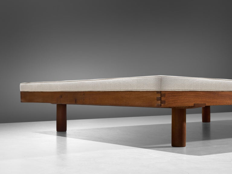 """French Pierre Chapo """"Godot"""" Daybed in Elm, 1965 For Sale"""