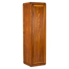 Pierre Chapo, High Storage Cabinet in Natural Elm, 1979