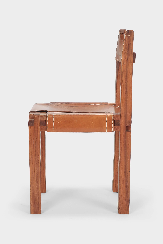 European Pierre Chapo S11 Chair, 1960s For Sale