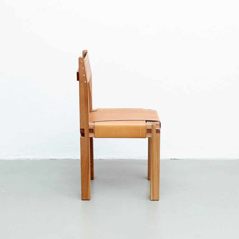 French Pierre Chapo S11 Chair For Sale