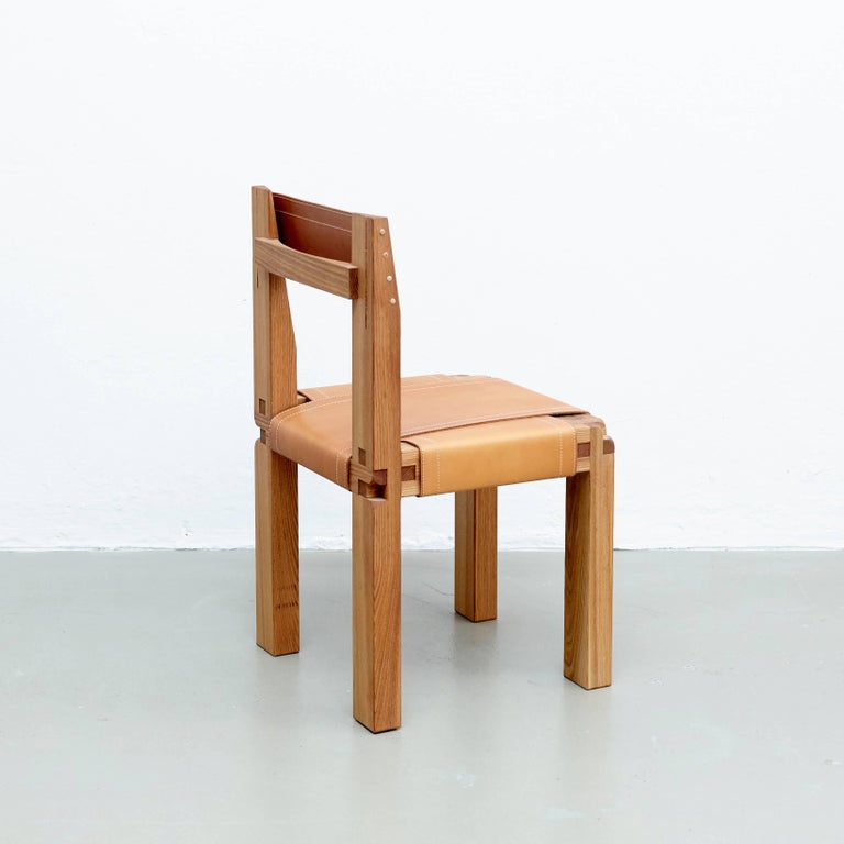 Pierre Chapo S11 Chair In Good Condition For Sale In Barcelona, Barcelona