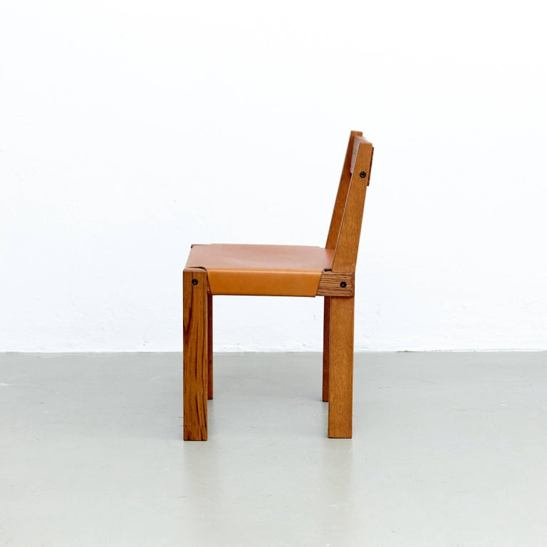 Oak Pierre Chapo S24 Chair