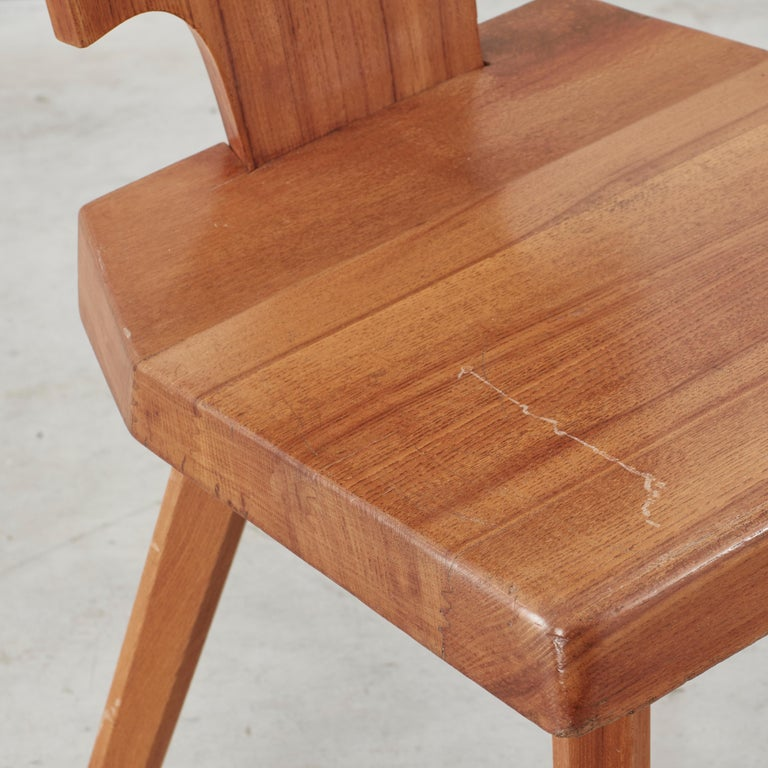 Late 20th Century Pierre Chapo S28 Chair Chapo SA, France, 1972, 4 available For Sale