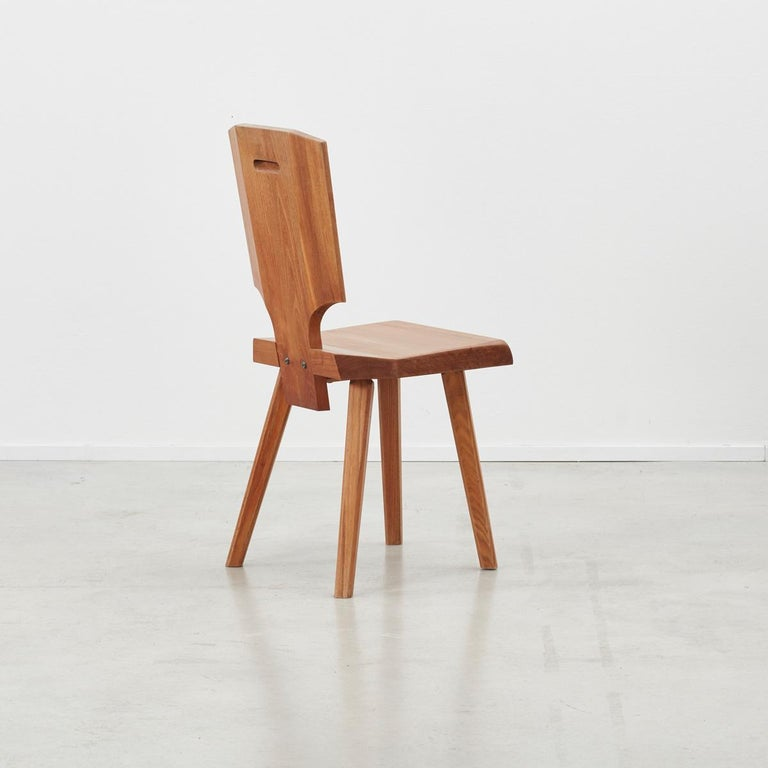 Mid-Century Modern Pierre Chapo S28 Chair Chapo SA, France, 1972, 4 available For Sale