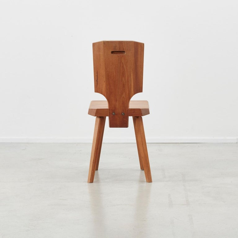 French Pierre Chapo S28 Chair Chapo SA, France, 1972, 4 available For Sale