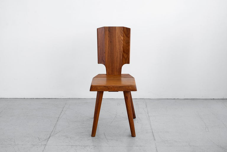 French Pierre Chapo S28 Dining Chair, Set of 8 For Sale