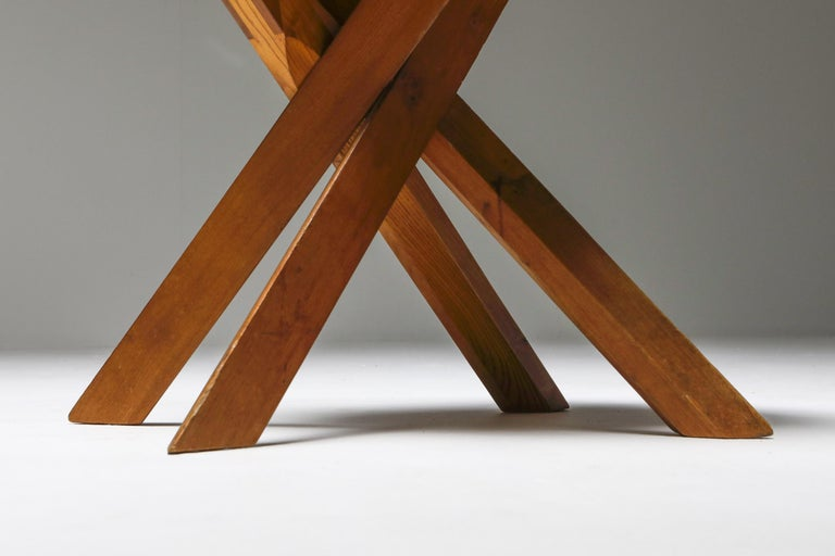 Pierre Chapo 'S34' Dining Chairs in Solid Elm, 1960s For Sale 7