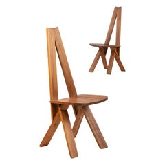 Pierre Chapo S45A Dining Chair, France