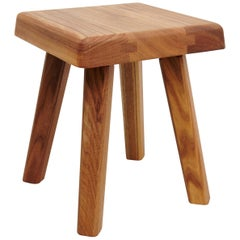 Pierre Chapo Solid Elmwood Stool