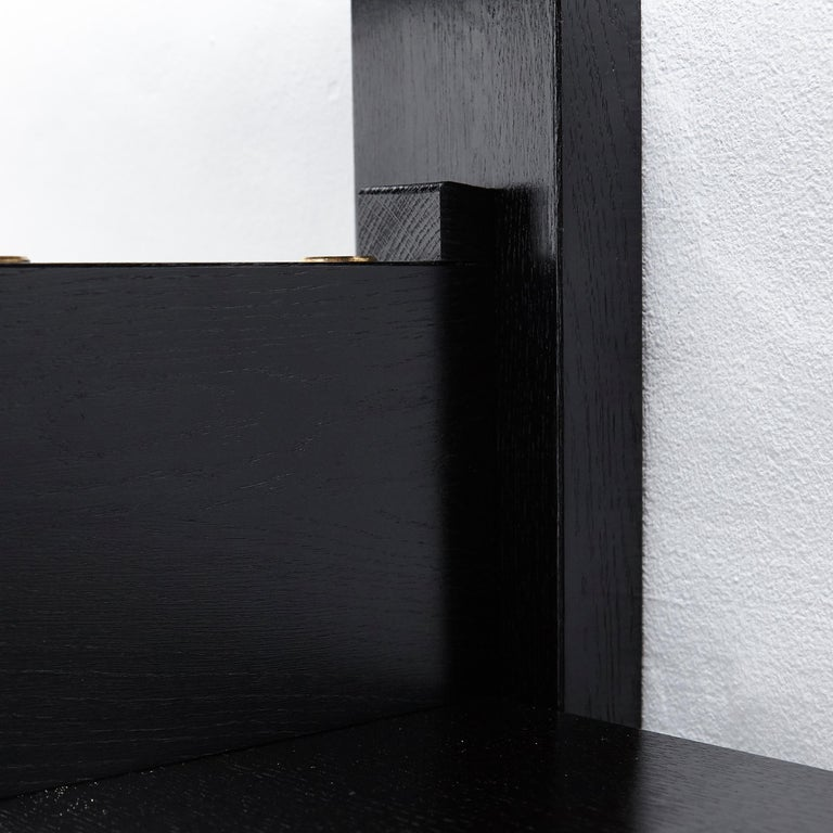 Pierre Chapo Special Black Edition Wall-Mounted Book Shelve B17 11