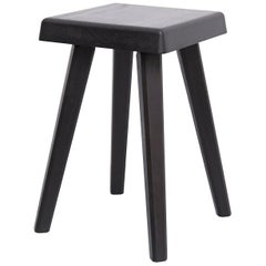 Pierre Chapo Special Black Wood Edition Stool