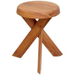 Pierre Chapo Stool S31A Solid Elmwood