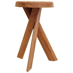 Pierre Chapo Stool S31B Solid Elmwood