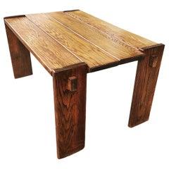 Pierre Chapo Style Table