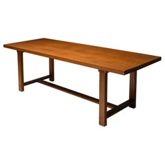 Pierre Chapo T01D Dining Table in Solid Elm