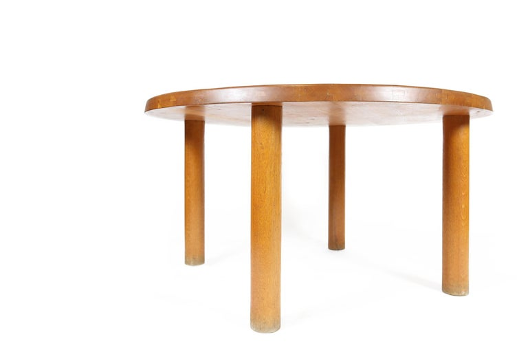 Pierre Chapo T02 Dining Table in Oak, France, 1974 For Sale 3