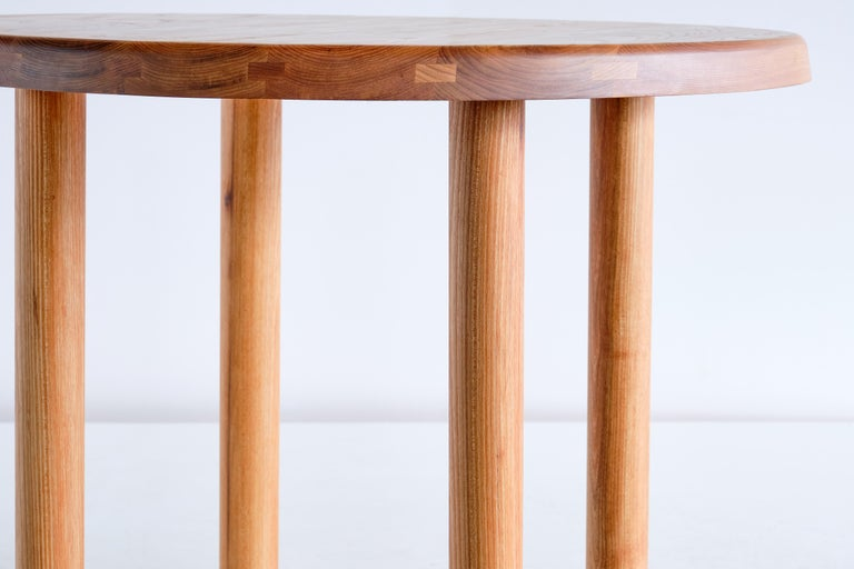 Pierre Chapo T02 Dining Table in Solid Elm, Chapo Creation, France For Sale 1