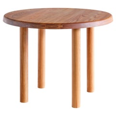Pierre Chapo T02 Dining Table in Solid Elm, Chapo Creation, France