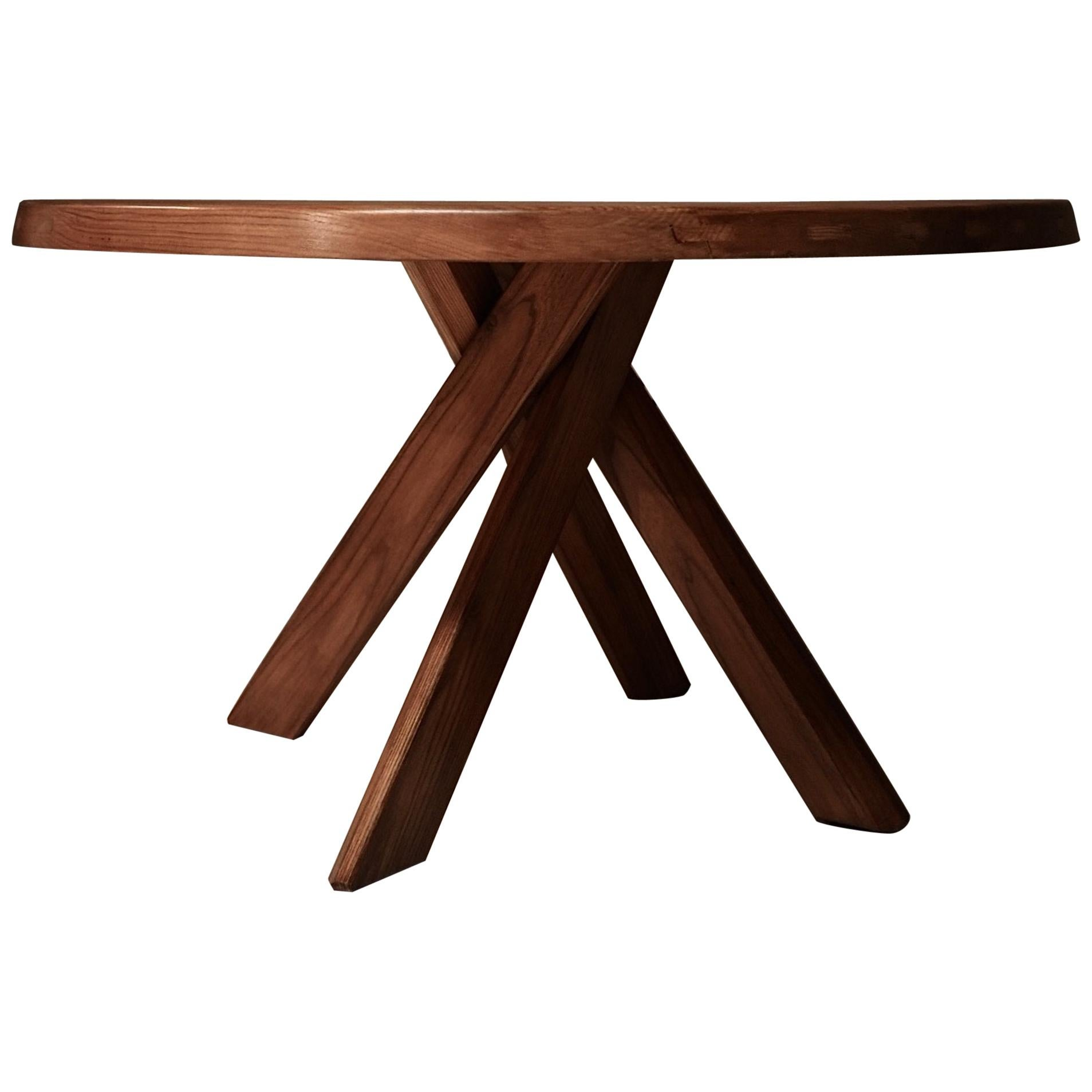 Pierre Chapo T21 Dining Table, 1960s