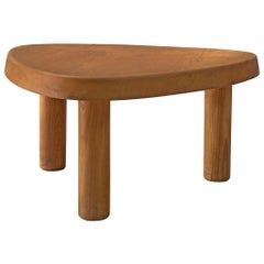 Pierre Chapo 'T23' Side Table in Solid Elm