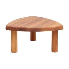 Pierre Chapo T23 Solid Elmwood Formalist Side Table