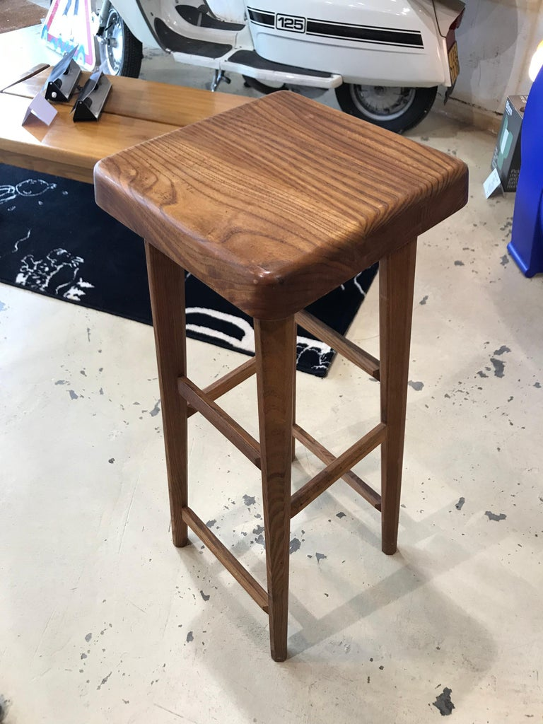 Late 20th Century Pierre Chapo, Tabouret S01C For Sale