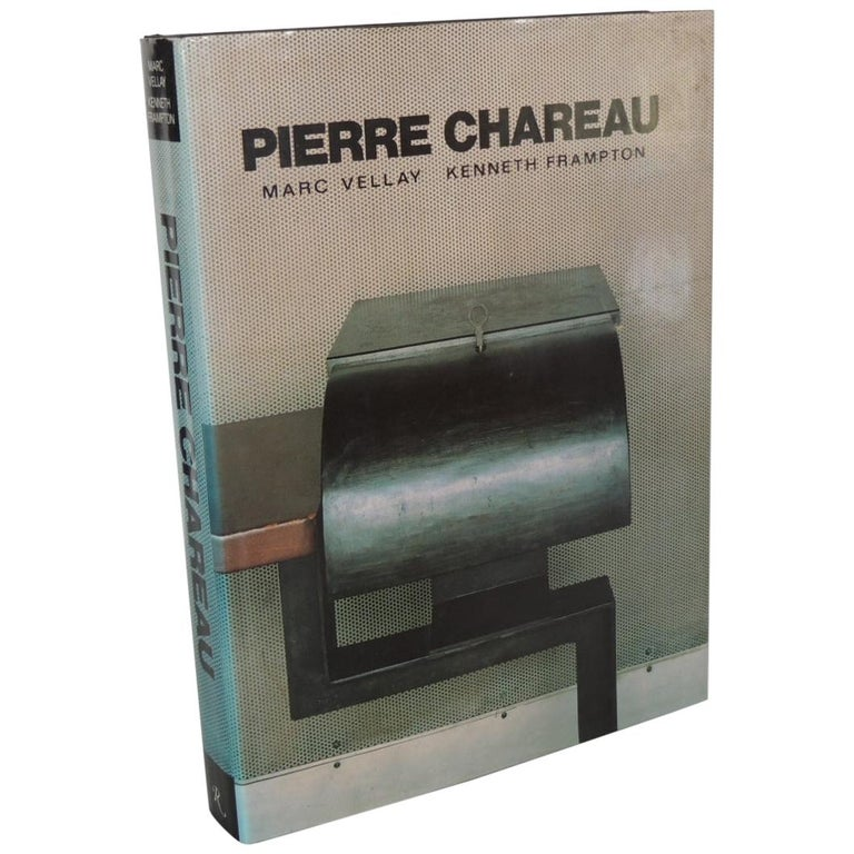 Pierre Chareau Vintage Coffee Table Hard-Cover Coffee Table Book For Sale