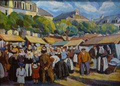 1920s Figurative Paintings
