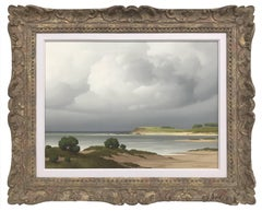 Sur le Cote, Bretagne 20th Century, Post-War, French Landscape Seascape Painting