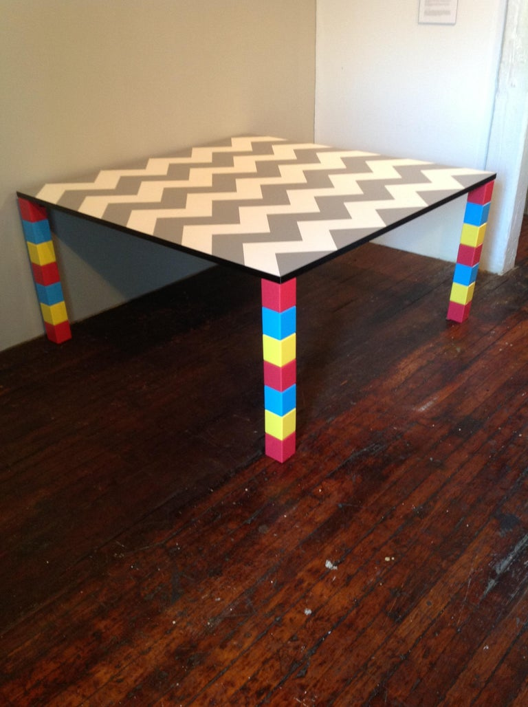 Post-Modern Pierre Dining Table or Desk For Sale