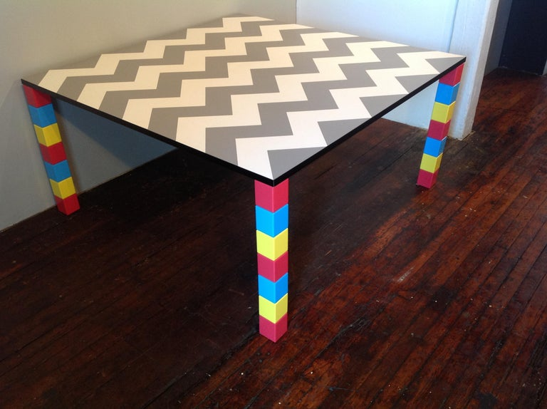 Italian Pierre Dining Table or Desk For Sale