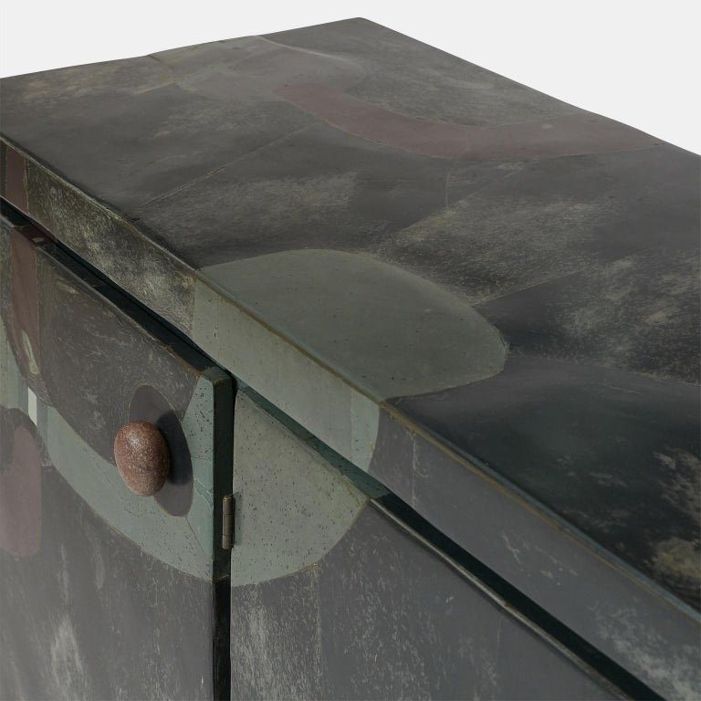 Stone Pierre-Elie Gardette Credenza For Sale
