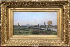 19th Century French Impressionist Landscape