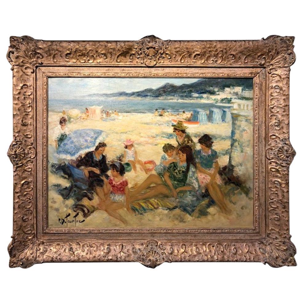 Pierre Eugene Duteurtre, Painting
