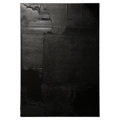 Pierre Fava Trash Wall Black n°00083 Painting