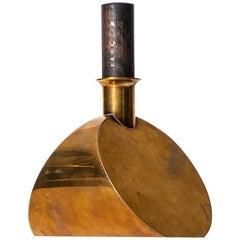 Pierre Forsell Decanter in Brass by Skultuna in Sweden