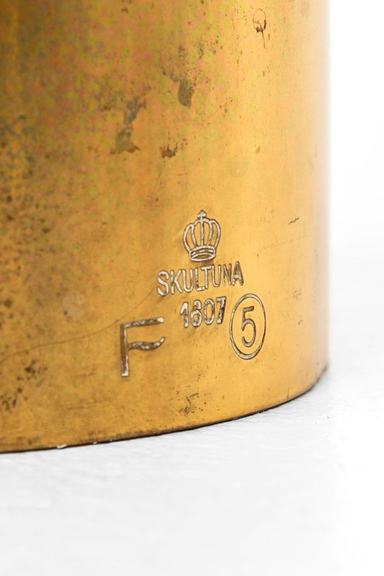 Swedish Pierre Forsell Table Lamp Produced by Skultuna in Sweden For Sale