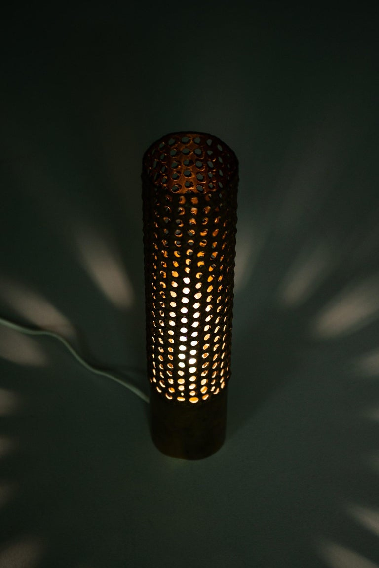 Mid-20th Century Pierre Forsell Table Lamp Produced by Skultuna in Sweden For Sale