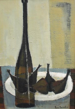 Still Life with Bottle and Figs