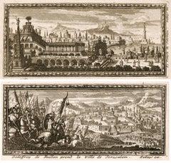 Temple of Solomon & Jerusalem Engravings