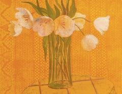 'White Tulips', Musée d'Art Moderne, Paris, Academie Chaumiere, Benezit