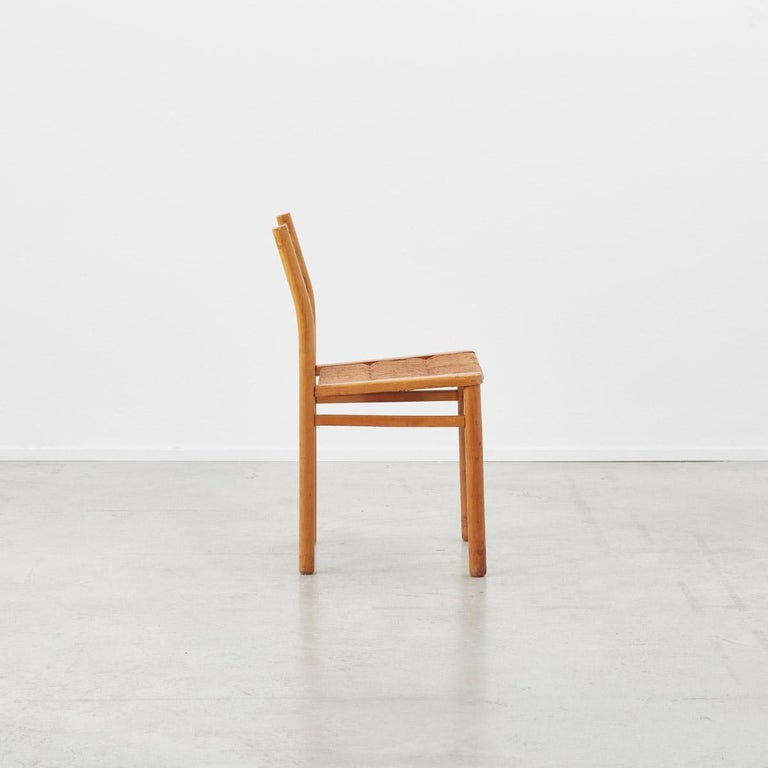 Mid-Century Modern Pierre Gautier-Delaye Chairs for Lucien Vergnères, France, 1959 For Sale