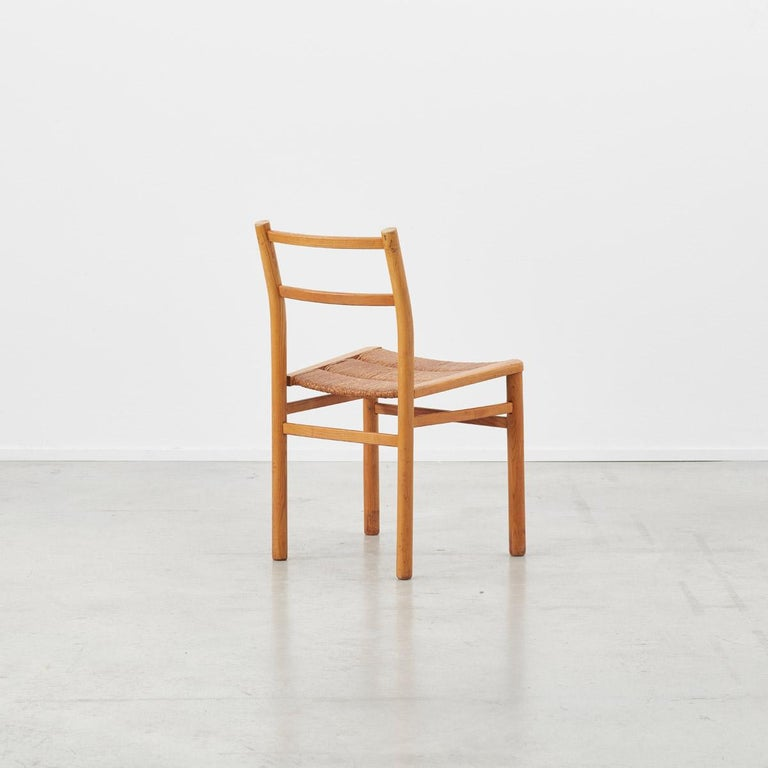 French Pierre Gautier-Delaye Chairs for Lucien Vergnères, France, 1959 For Sale