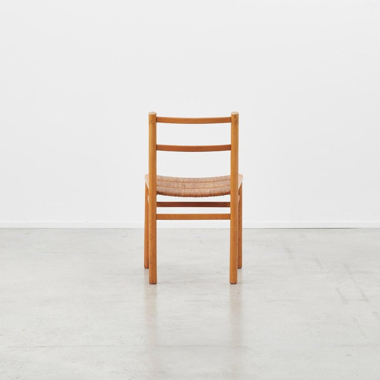 Mid-20th Century Pierre Gautier-Delaye Chairs for Lucien Vergnères, France, 1959 For Sale