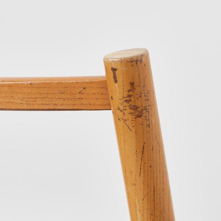 Pierre Gautier-Delaye Chairs for Lucien Vergnères, France, 1959 For Sale 2