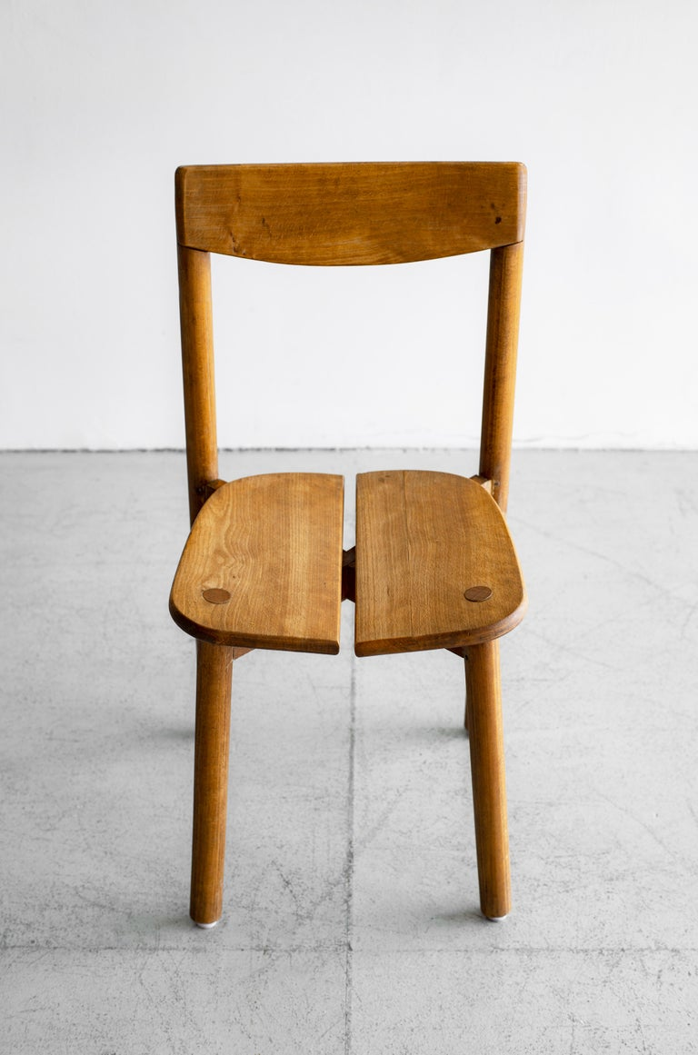 Pierre Gautier Delaye Dining Chairs In Good Condition For Sale In Los Angeles, CA
